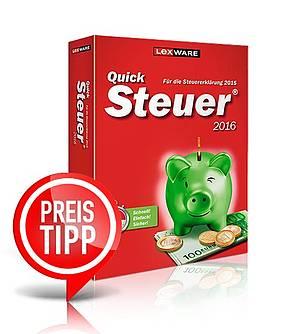 Steuersoftware für Steuerjahr 2015